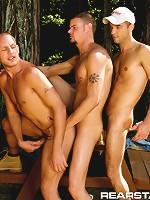 Derrick Hanson, Luke Hass & Ryann Wood