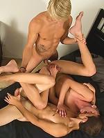 Max, Aaron and Jasper