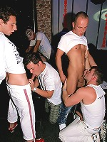 Gay guys snorkeling