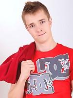 Sweet innocent smiling Teen Boy