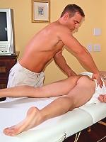 Aaron James Deflowers Muscle Stud